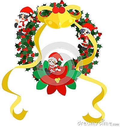 Christmas Wreath -Green-