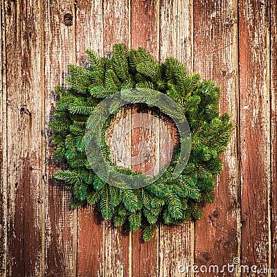 Christmas Wreath Stock Photo - Image: 46127091