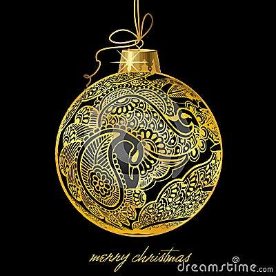 Christmasball illustration