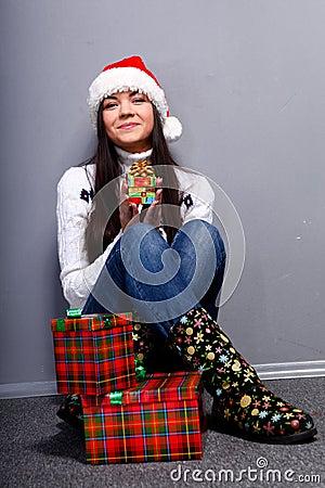 Christmass girl