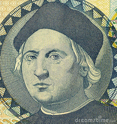 Christopher Columbus Editorial Stock Image