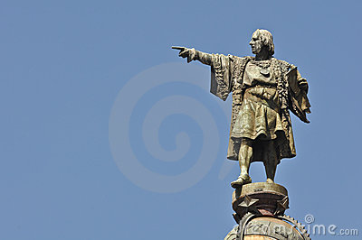 Christopher Columbus Day Statue