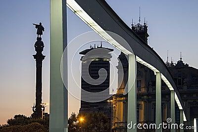 Christopher Columbus Statue - Barcelona - Spain