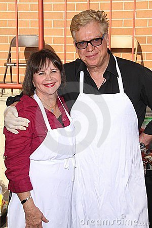 Christopher Mc Donald, Cindy Williams Editorial Image