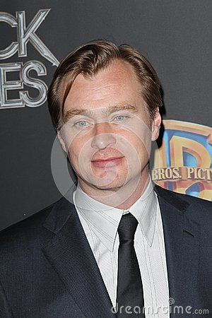 Christopher Nolan at the CinemaCon 2012 WB Studio Presentation, Caesars Palace Hotel, Las Vegas, NV 04-24-12 Editorial Stock Photo
