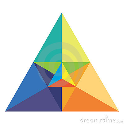 Chromatic triangle