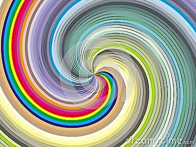 Chromatic whirl.
