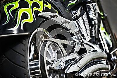Chrome bike