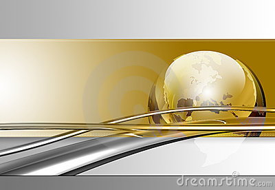 Chrome Cable Background
