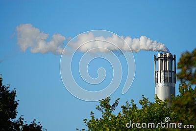 Chrome chimney