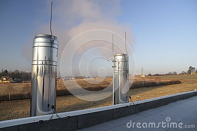 Chrome chimneys