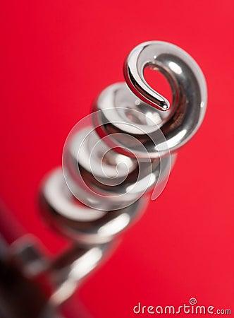 Chrome corkscrew