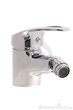 Chrome faucet with a swivel head