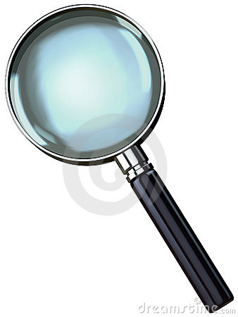 Free Chrome Magnifying Glass Royalty Free Stock Images - 1766629