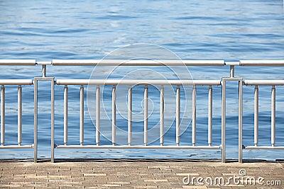 Chrome Metal Guard Rail