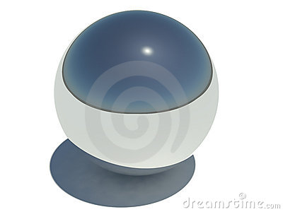 Chrome Metal Sphere