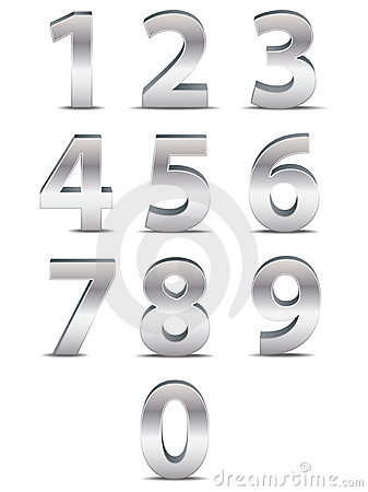 Chrome Numbers in 3D
