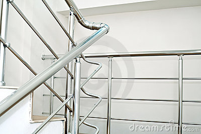 Chrome railing