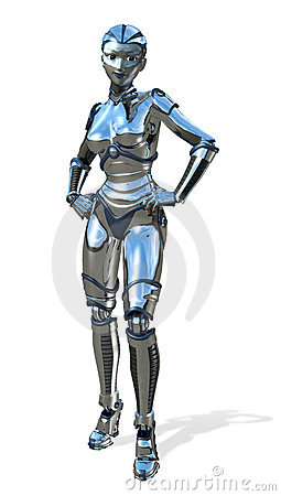 Chrome Robot