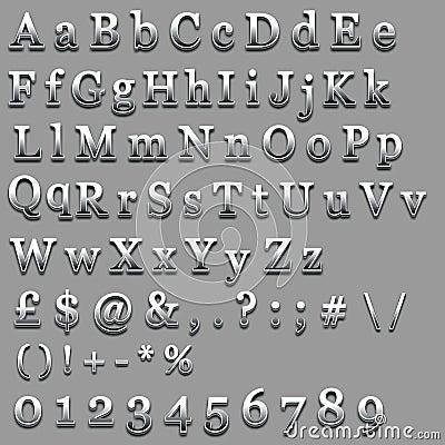 Chrome Text