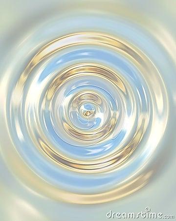 Chrome waterdrop