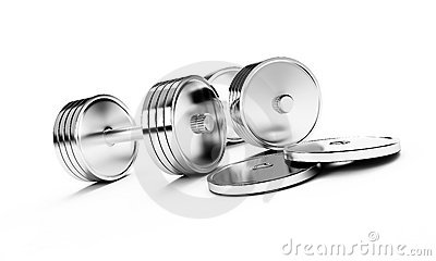 Chrome weights
