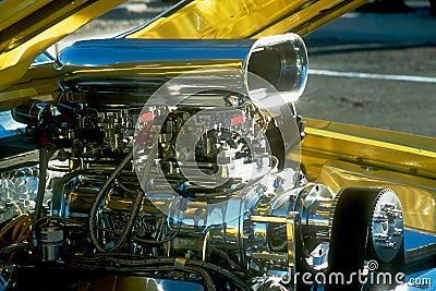 Chromed Engine