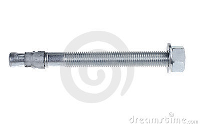 Chromed screw