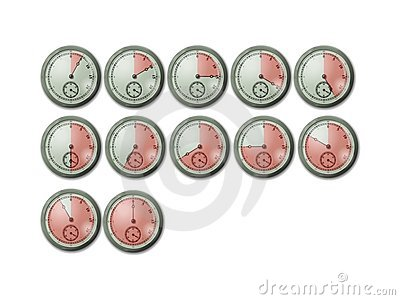 Chrono Timer Stopwatch Clocks