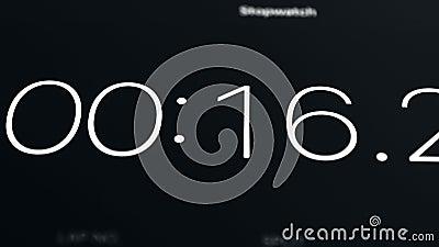 chronometer stock video