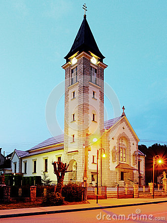 Free Chruch In Terchova Village Stock Image - 32698701