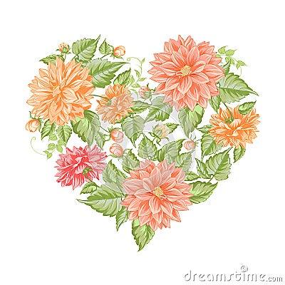 Chrysanthemum holiday card.