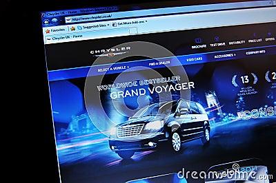 Chrysler Redaktionell Fotografering för Bildbyråer