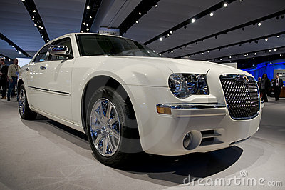 Chrysler 300C Editorial Stock Photo