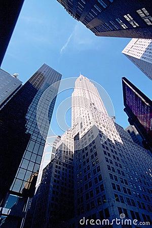 Chrysler Building Editorial Photography