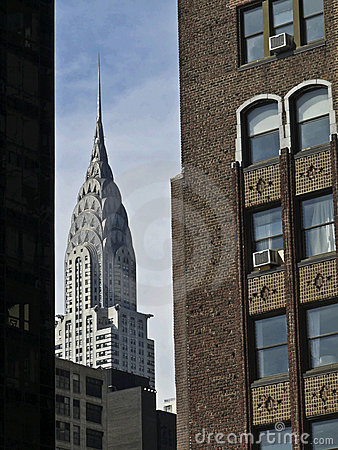 Chrysler Building Editorial Stock Photo