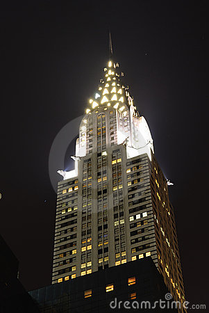 Chrysler Building Editorial Image