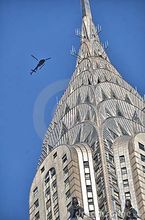Chrysler Building Editorial Stock Image