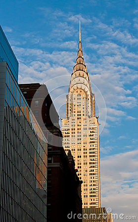 Chrysler Building Editorial Photo
