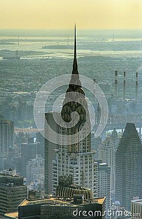 Chrysler Building Editorial Stock Photo