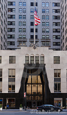 Chrysler Building Entrance Editorial Image