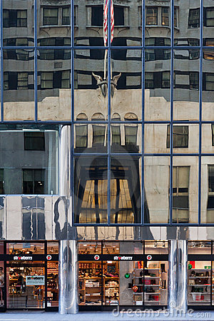 Chrysler Building Entrance Editorial Photography