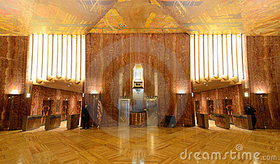 Art deco chrysler building lobby hot girls wallpaper for Chrysler building lobby mural