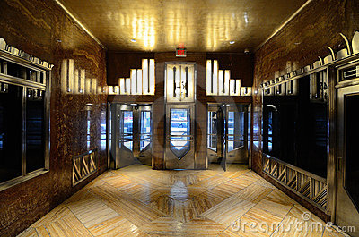 Chrysler Building Lobby Editorial Photo Image 20994586