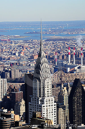Chrysler Building New York Editorial Photo