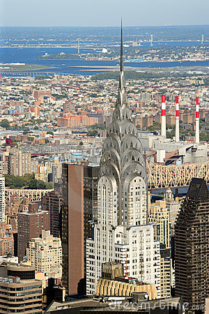 Chrysler Building in New York City Editorial Stock Photo