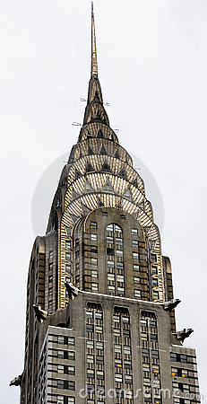 Chrysler Building Spire Editorial Photography