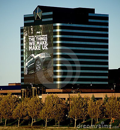 chrysler headquarters editorial image image 16566295. Cars Review. Best American Auto & Cars Review