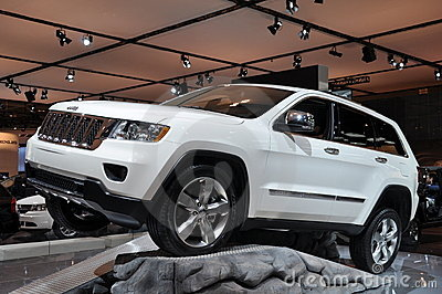 Chrysler Jeep Grand Cherokee Editorial Image