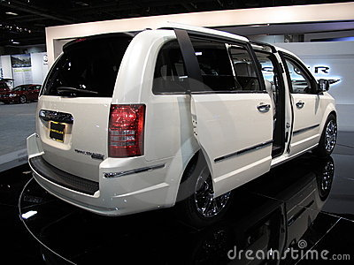 Chrysler Town and Country Editorial Photography